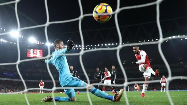 Catatan dan Fakta yang Tercipta Saat MU Bungkam Arsenal
