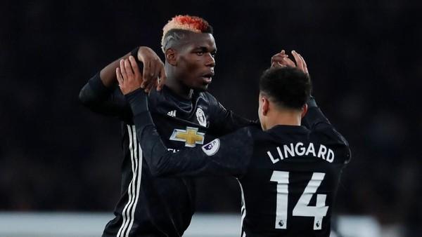 Kompak dengan Pogba, Lingard: Latihannya Sejak dari Akademi