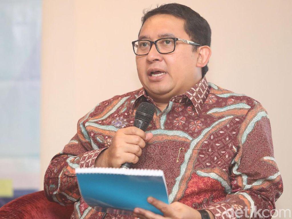 Fadli Zon: Gerindra Hampir 100% Capreskan Prabowo