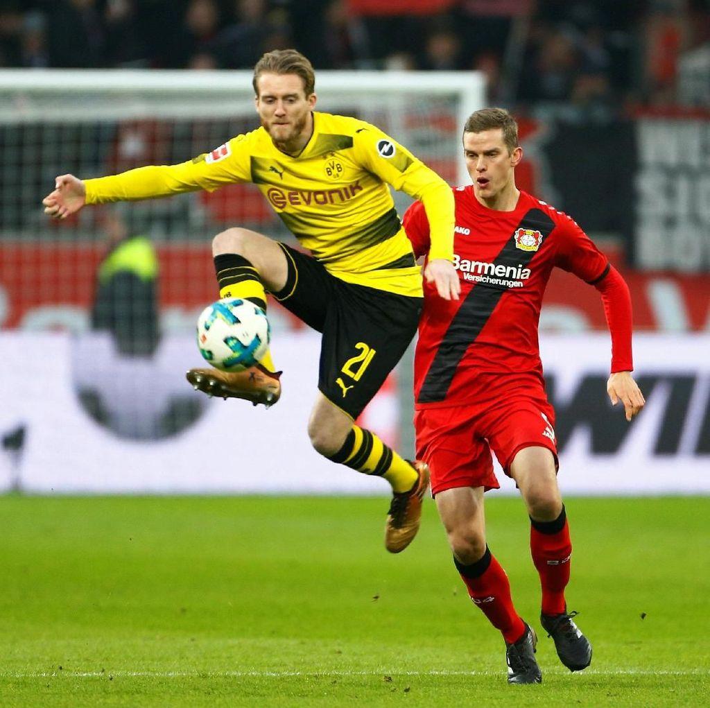 Leverkusen vs Dortmund Berakhir Imbang 1-1