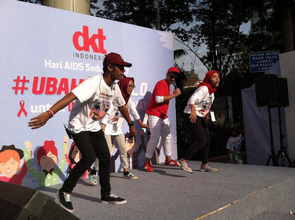 Serunya Dance4Life di CFD, Berjoget untuk Ingatkan Bahaya HIV-AIDS
