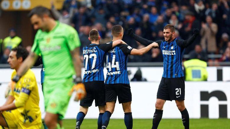 Usai Membekuk Chievo 5-0 Tanpa Balas Inter Berhasil puncaki klasemen