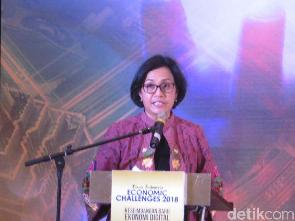 Ragam Tantangan Ekonomi RI Versi Sri Mulyani
