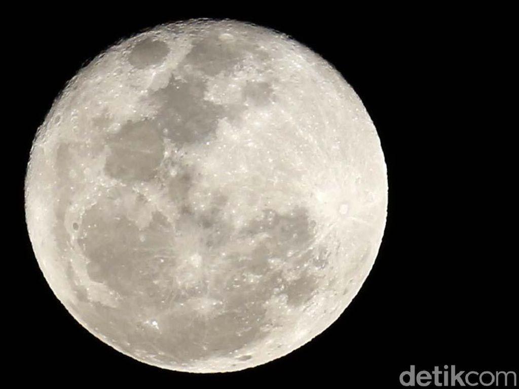 Ada Bulan Cacing Penuh di Langit Malam Nanti