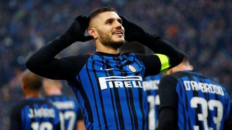 Inter: Bisa Yakinkan Icardi untuk Hengkang, Madrid?