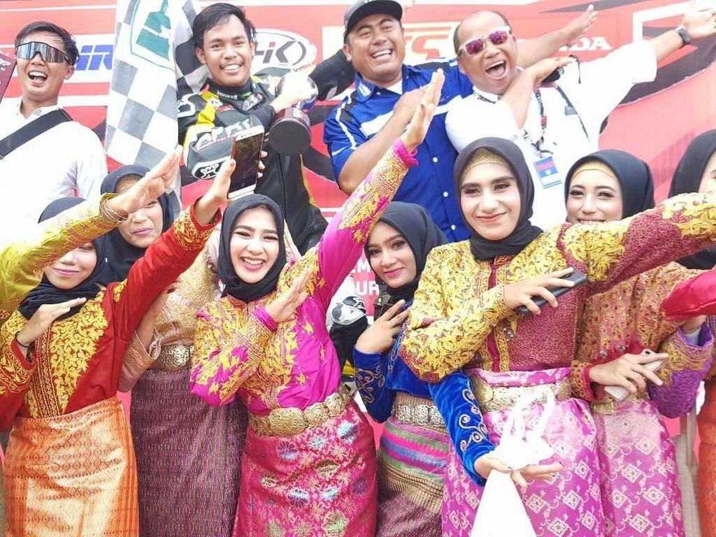 Yamaha Rebut Gelar Juara Indonesia Kelas MP1 dan MP2