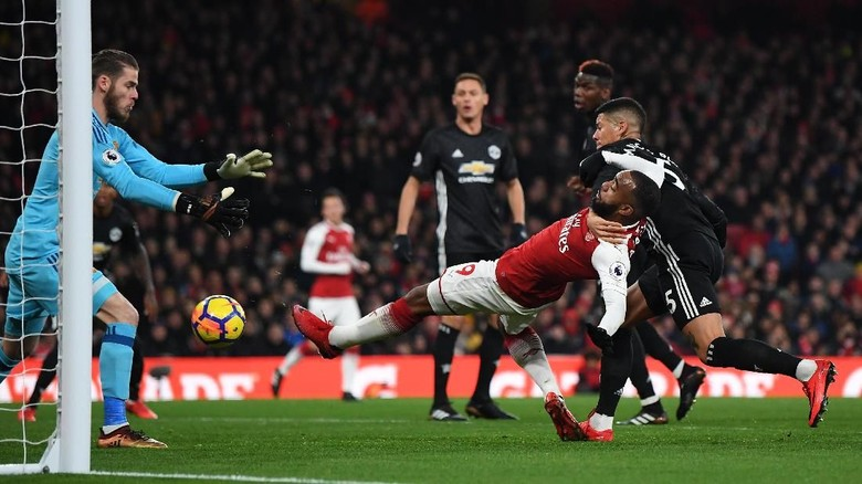 Pertarungan MU vs Arsenal di Old Trafford