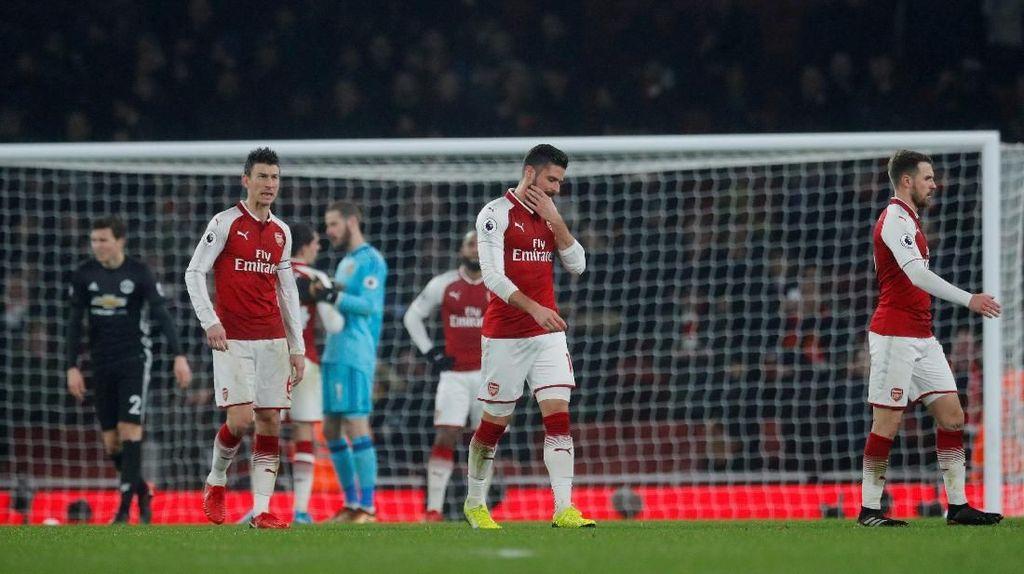 Pemain-Pemain Arsenal Masih Terhantui Kekalahan dari MU