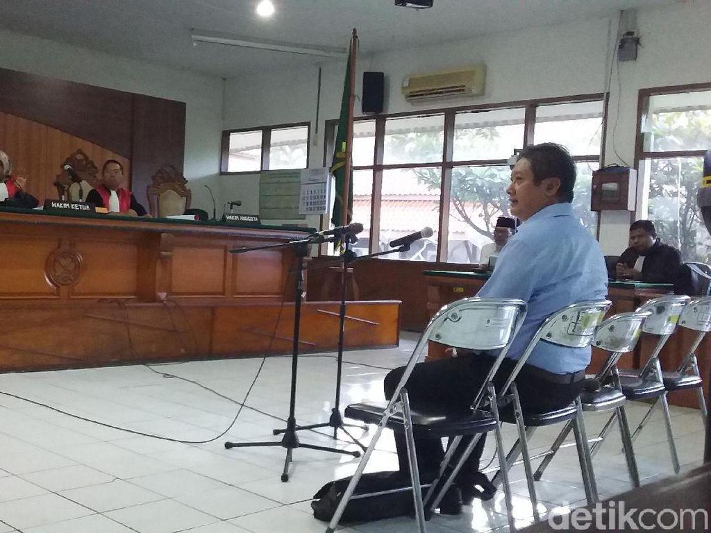 Eks Sekda Bandung Edi Siswadi Bebas dari Lapas Sukamiskin