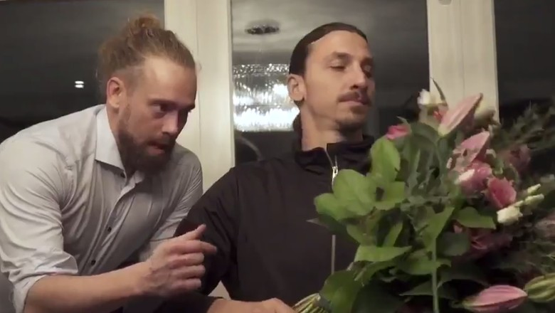 Ketika Zlatan Ibrahimovic Belajar Lebih Rendah Hati
