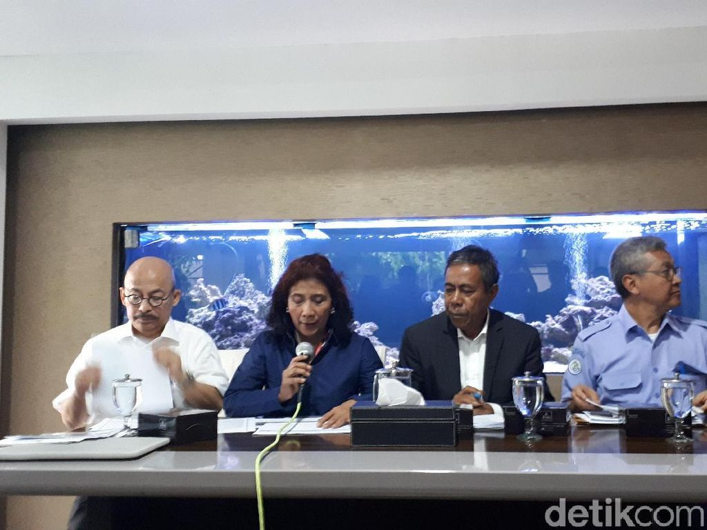 Menteri Susi: Ada Indikasi Perdagangan Orang di Kapal Fu Yuan Yu 831