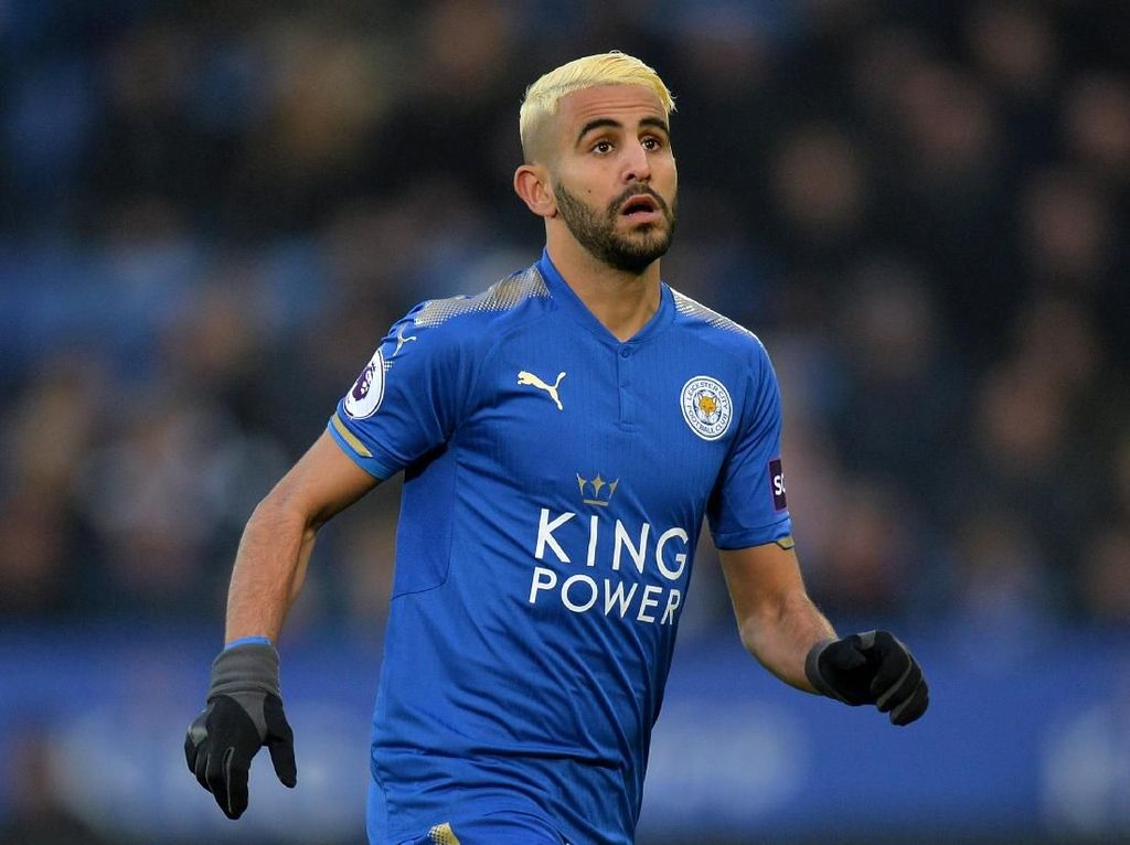 Leicester: Kembalilah, Mahrez!