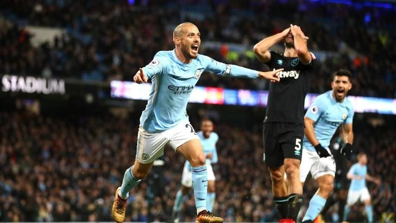 Sempat Tertinggal, City Atasi West Ham 2-1