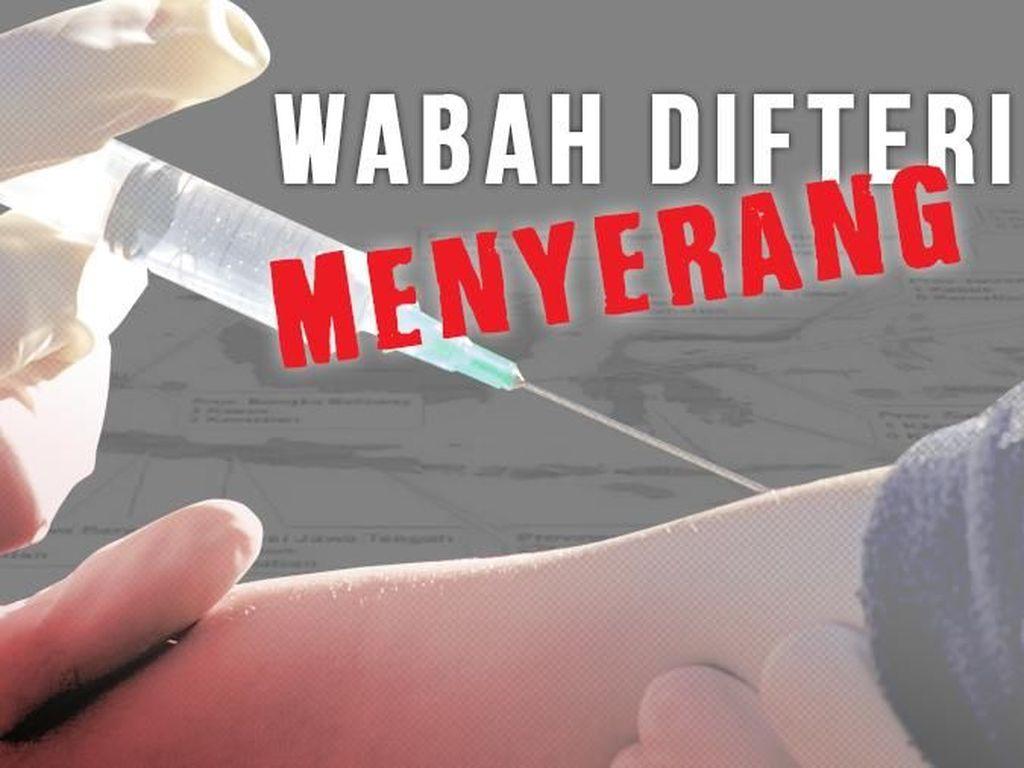 Kasus Wabah Difteri di Jabar Terus Bertambah