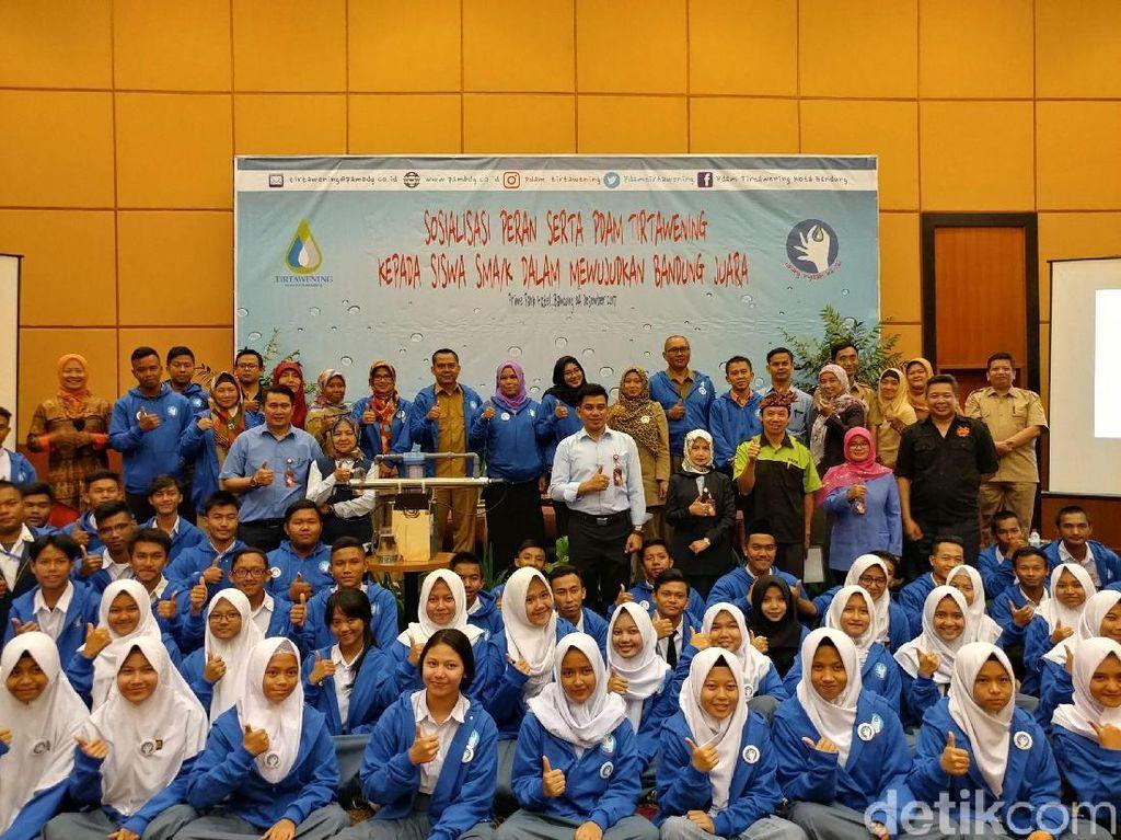 PDAM Ajak Pelajar Jaga Sumber Air di Bandung