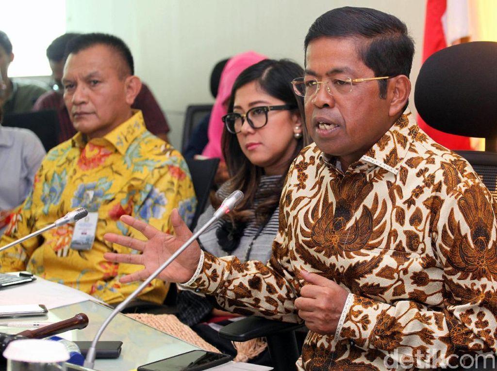 Idrus Marham Pamer Lagi Bertemu Jokowi