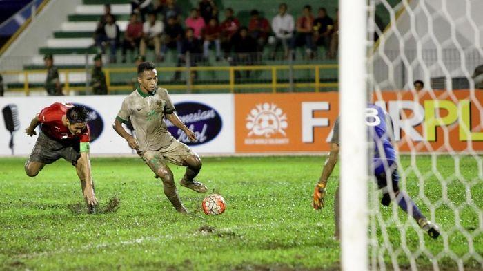 Osvaldo Haay segera gabung timnas U-22 lagi. (Foto: Irwansyah Putra/Antara)