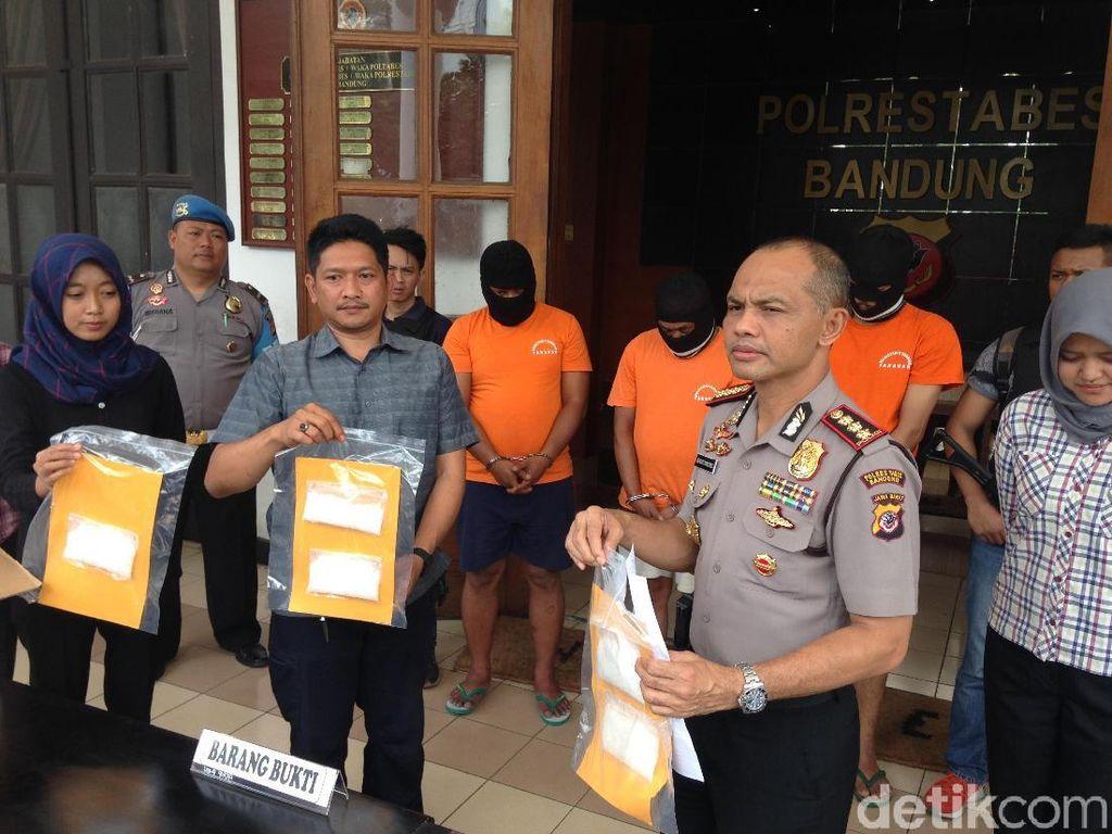 Kelompok Uus Gagal Edarkan Sabu Rp 1 Miliar di Bandung