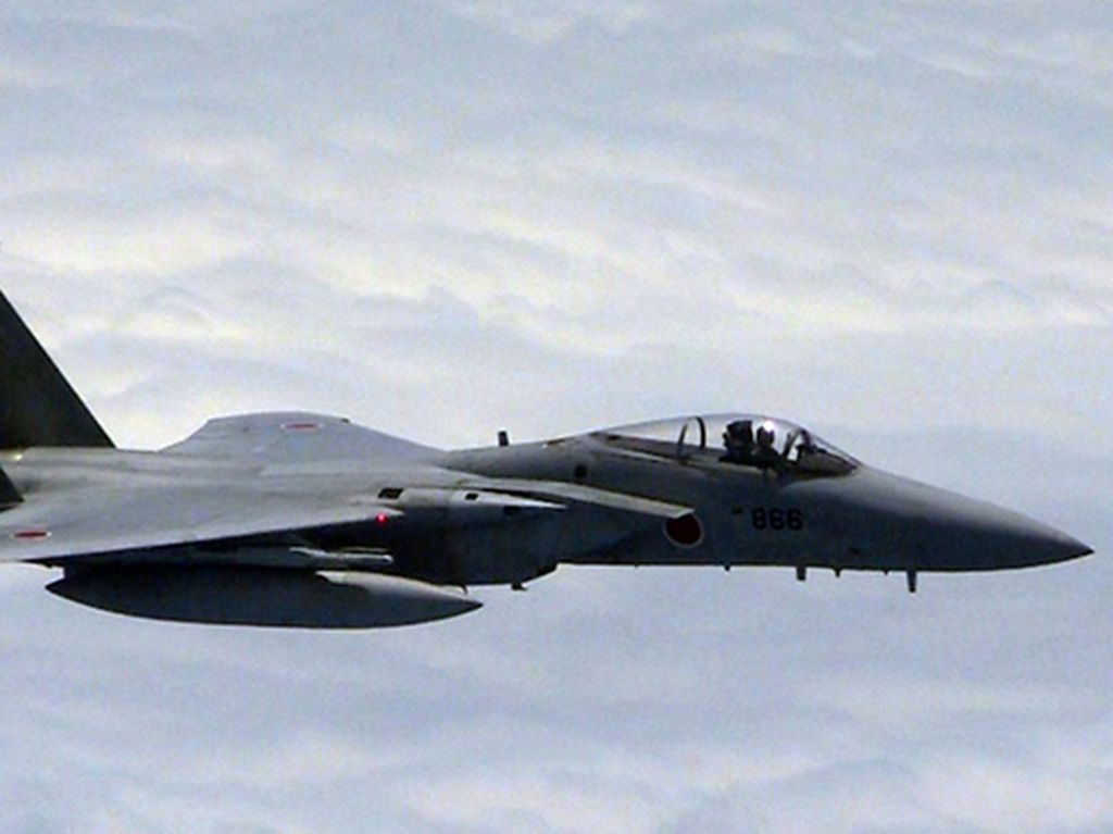 Jet Tempur F-15 AS Jatuh di Jepang, Pilot Selamat