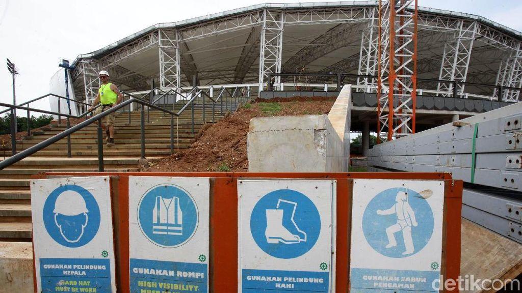 Renovasi Velodrome Dikebut, Begini Kondisinya