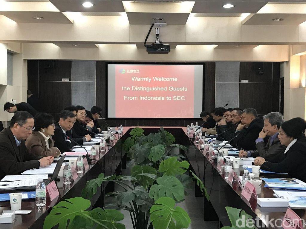 PLN Gandeng Akademisi Kunjungi Pabrik Shanghai Electric