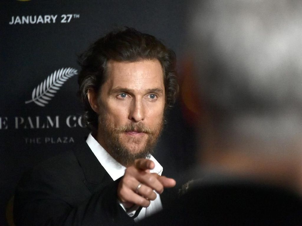 Matthew McConaughey Serius Ingin Jadi Gubernur