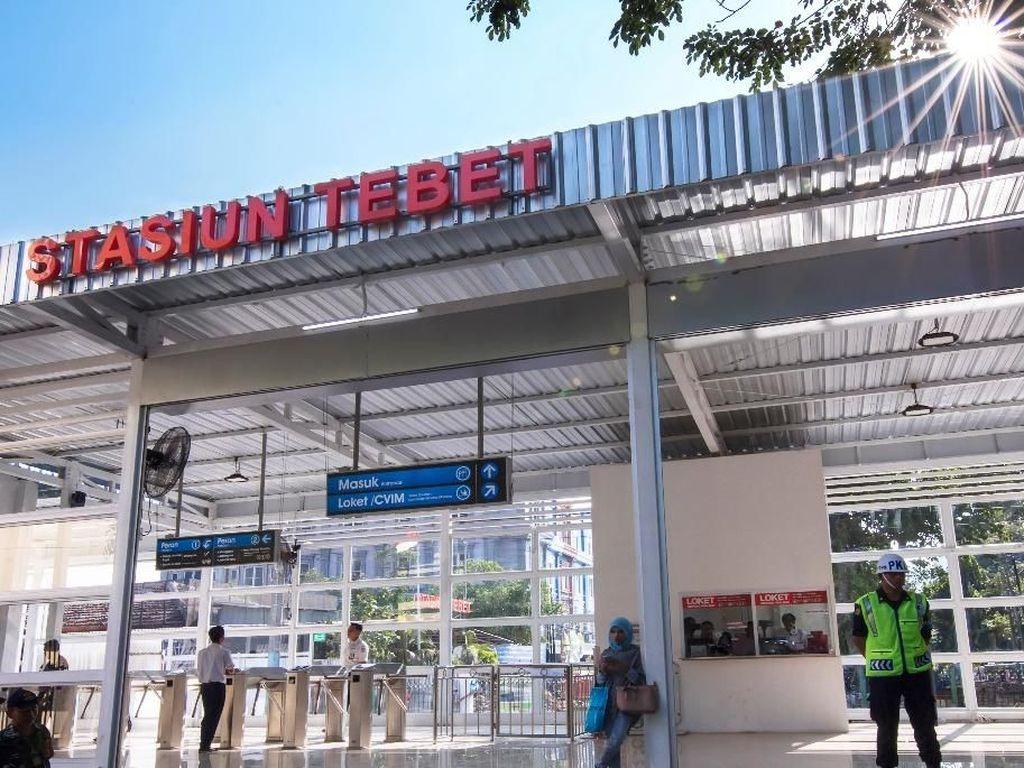 Stasiun Tebet Ditata, Begini Desainnya!