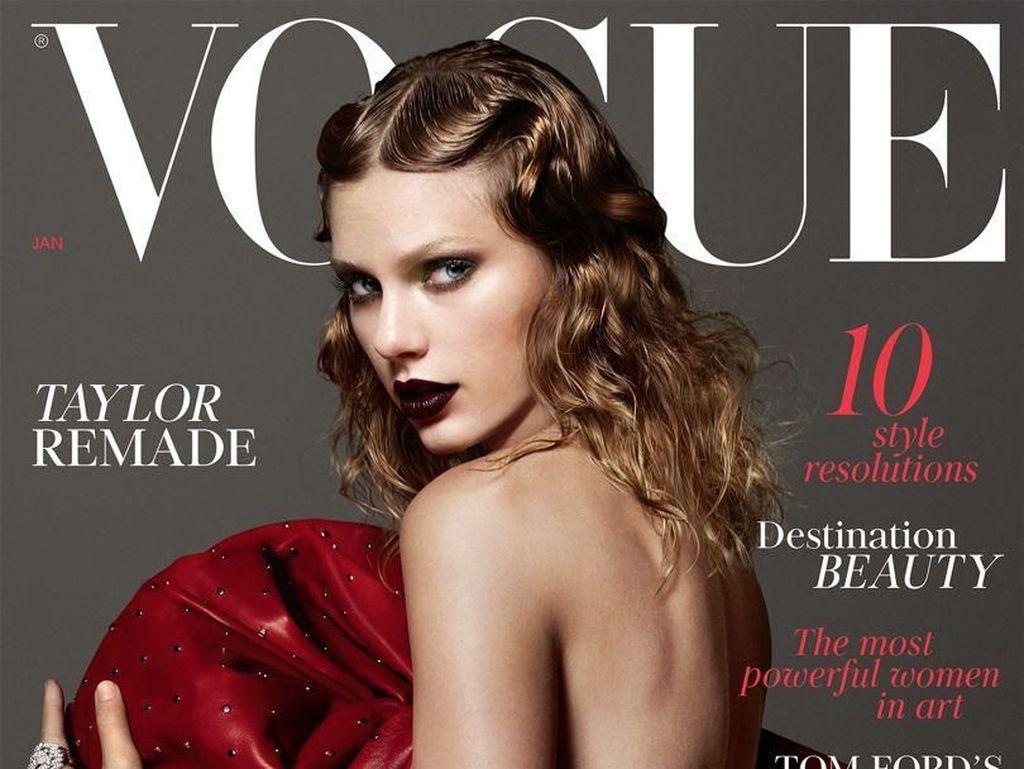 Penampilan Baru Taylor Swift yang Edgy di Cover Vogue