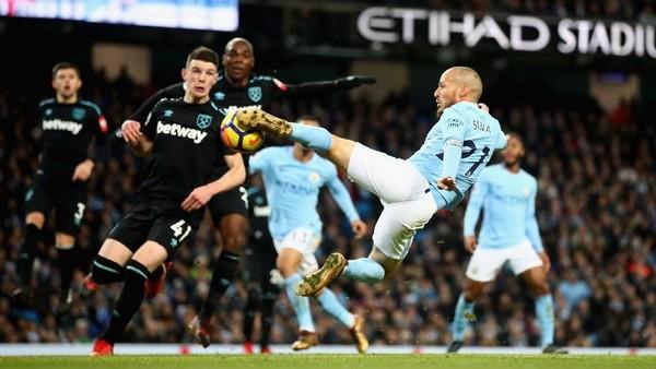 City Terancam Tanpa David Silva di Derby Manchester
