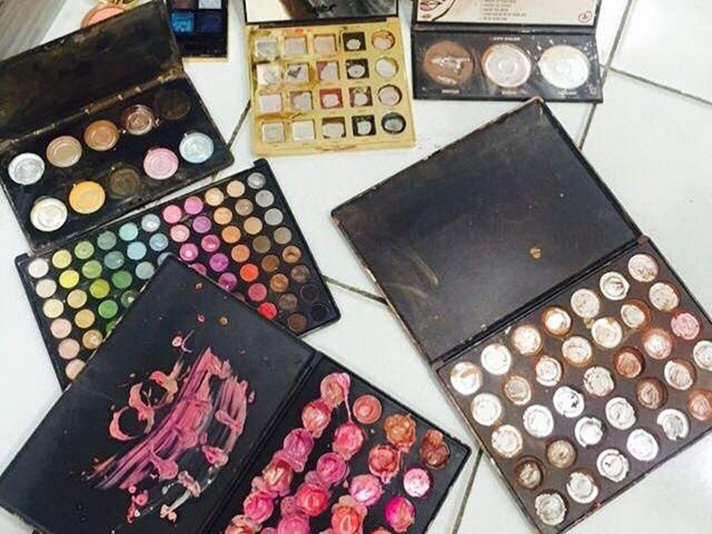 Makeup Artist Ungkap Nilai Kerugian Pasca Kosmetik Dihancurkan Petugas BPOM