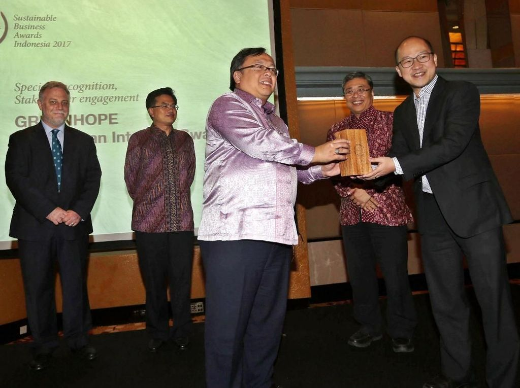 Kepala Bappenas Hadiri Sustainable Business Awards Indonesia 2017