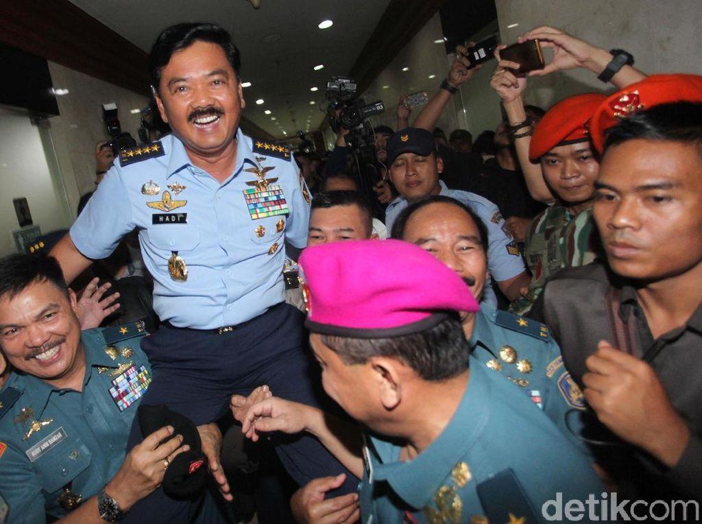 Disetujui DPR, Kapan Marsekal Hadi Dilantik Jadi Panglima?