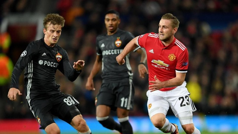 Mourinho Beri Apresiasi Khusus Kepada Luke Shaw