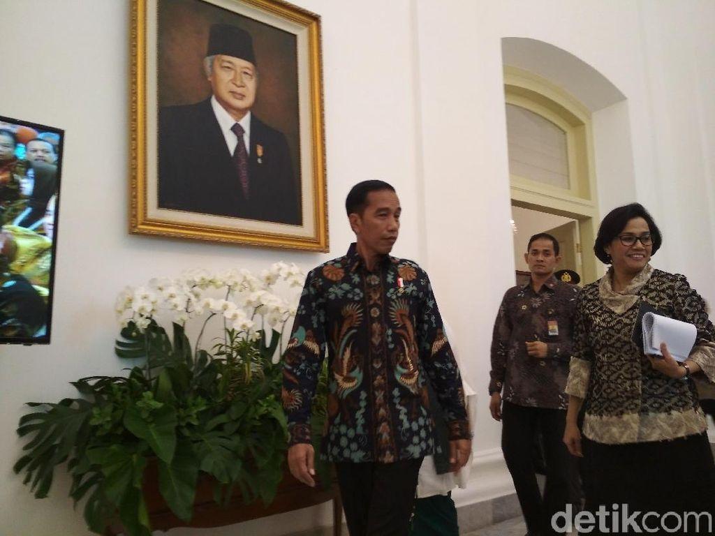 Di Depan Jokowi, Sri Mulyani Lapor Kondisi Kas Negara Terkini