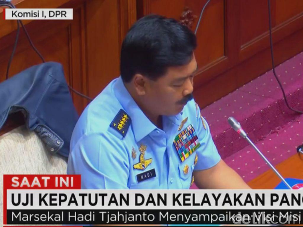 10 Fraksi di DPR Hadiri Uji Kepatutan KSAU Jadi Calon Panglima TNI