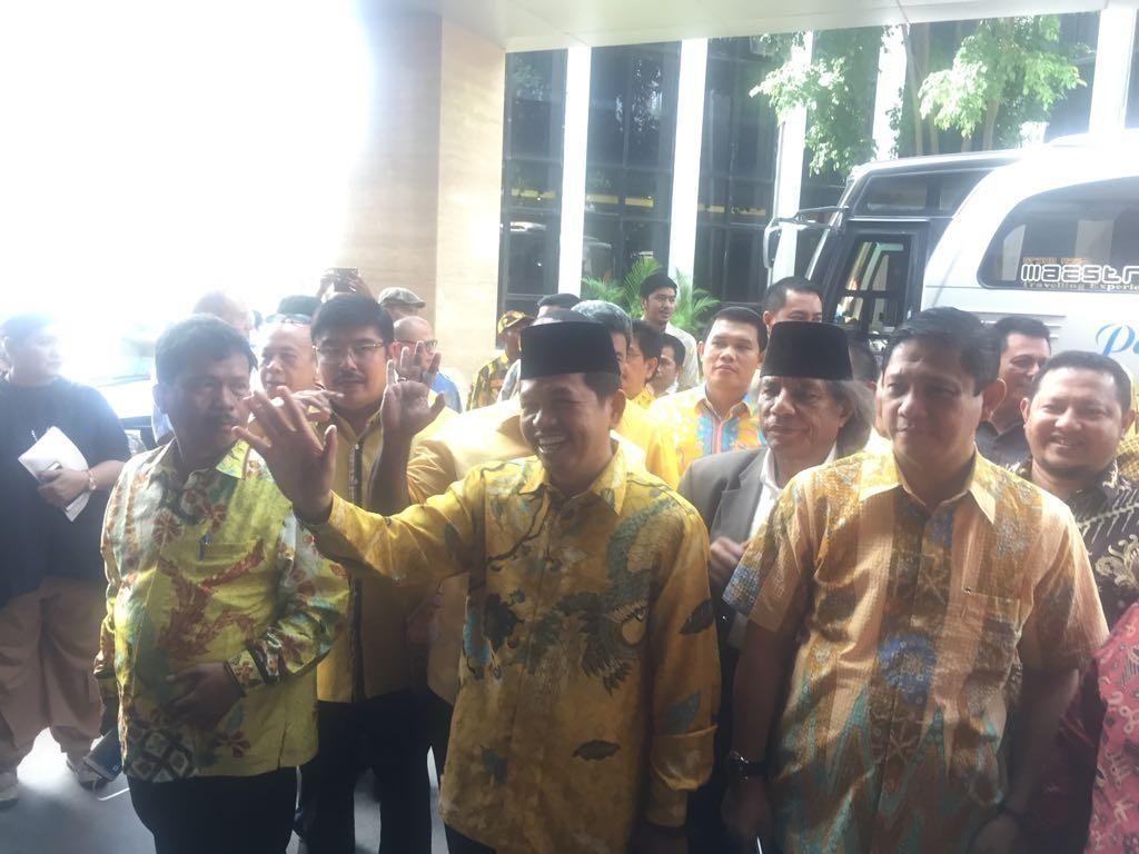 Sambangi DPP, DPD I Golkar: Kita Serahkan Surat Permintaan Munaslub