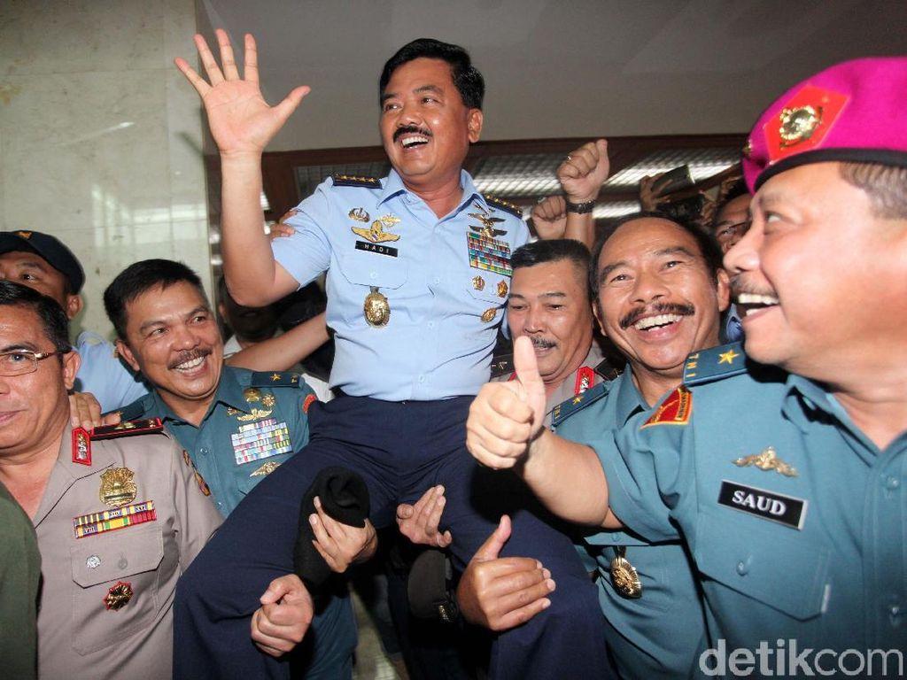 Komisi I Pastikan Marsekal Hadi Dilantik Sore Ini di Istana Negara
