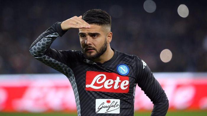 Lorenzo Insigne bisa meninggalkan Napoli. (Foto: Tony Gentile/Reuters)