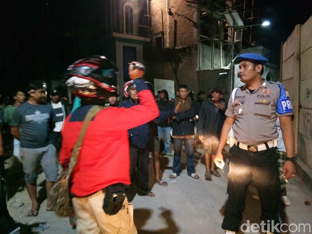 Tawuran di Makassar Pakai Bom Molotov, 2 Warga Jadi Korban