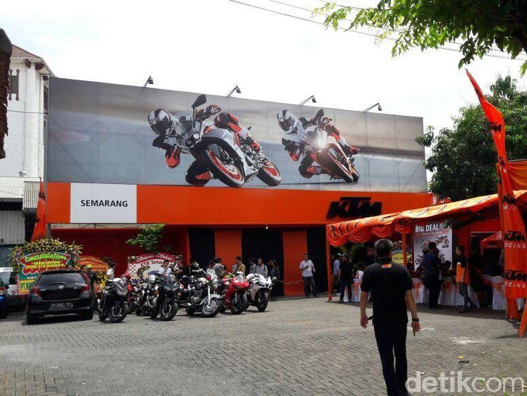 KTM Perkuat Pasar di Indonesia, Bakal Bangun Puluhan Diler