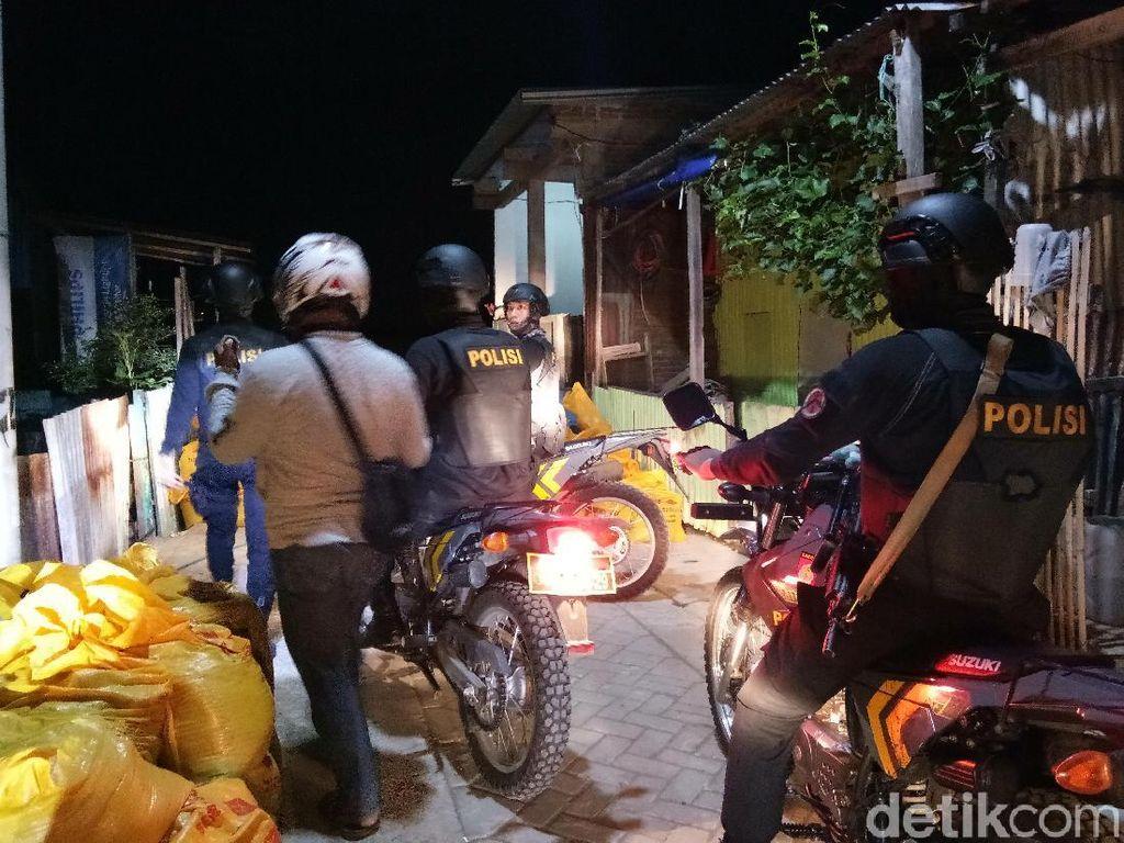Tawuran di Makassar Saling Lempar Bom Molotov