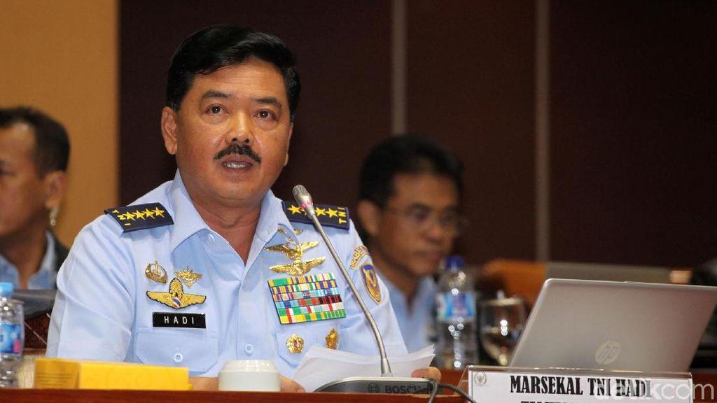 Proses Kilat Marsekal Hadi Tjahjanto Jadi Panglima TNI