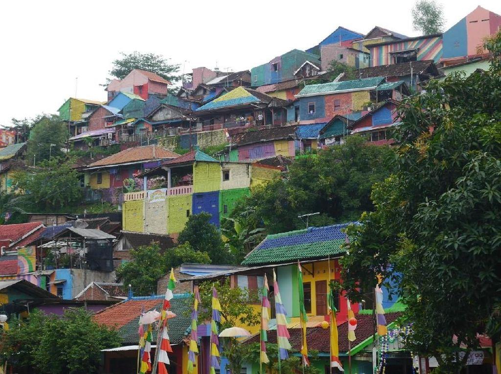 Kampung Pelangi di Semarang, Destinasi Wisata saat Weekend