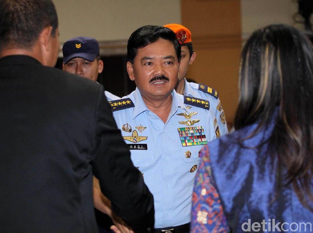 Marsekal Hadi Dikabarkan Dilantik Jadi Panglima TNI Hari Ini