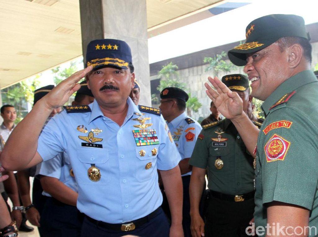 Diuji DPR, Calon Panglima TNI Marsekal Hadi Bicara Ancaman Terorisme