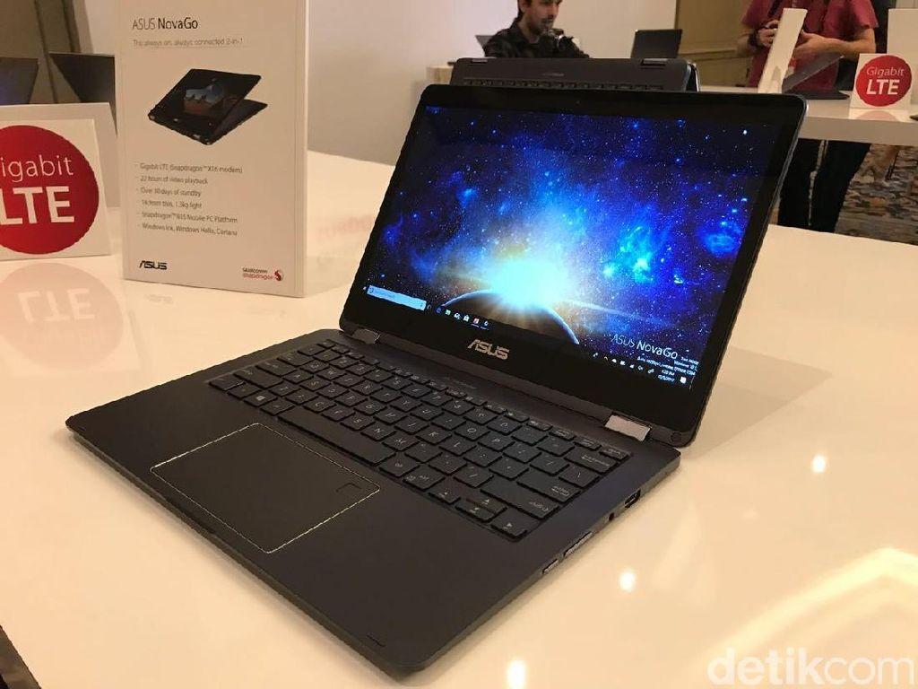 Asus NovaGo, Laptop Pertama Berotak Snapdragon 835