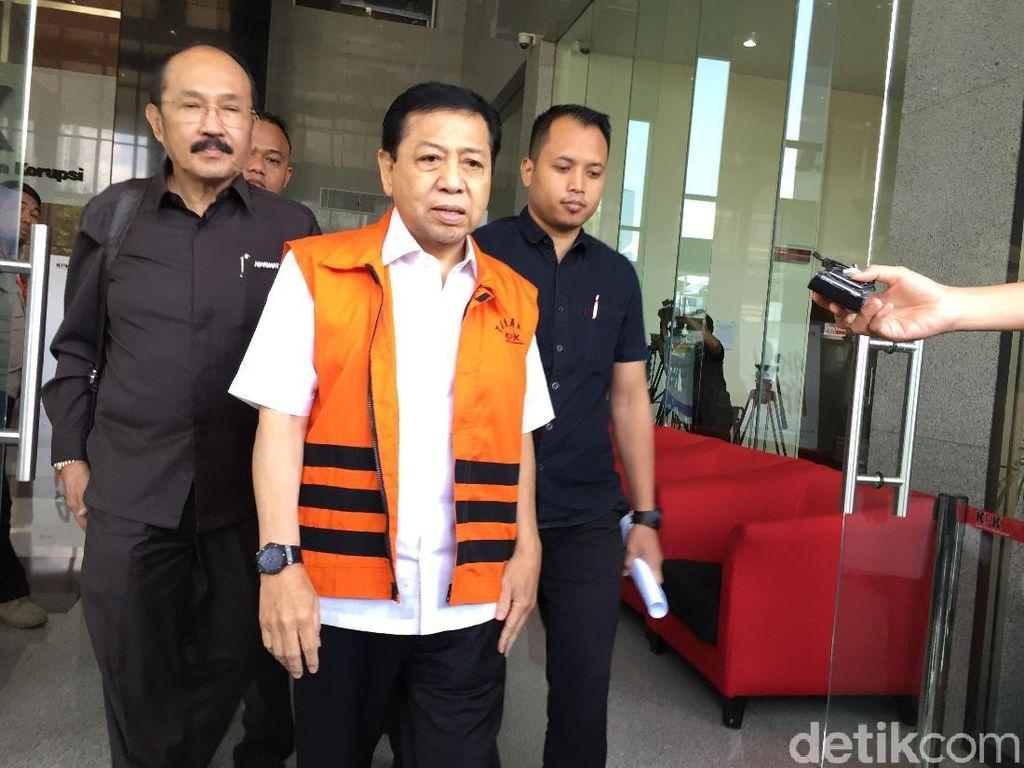 Di Praperadilan, KPK: Novanto Tak Lagi Tersangka tapi Terdakwa