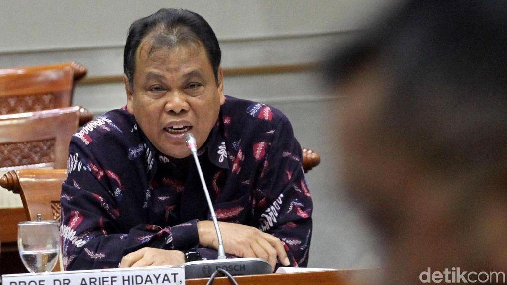 Arief Hidayat Jalani Uji Kelayakan Hakim MK