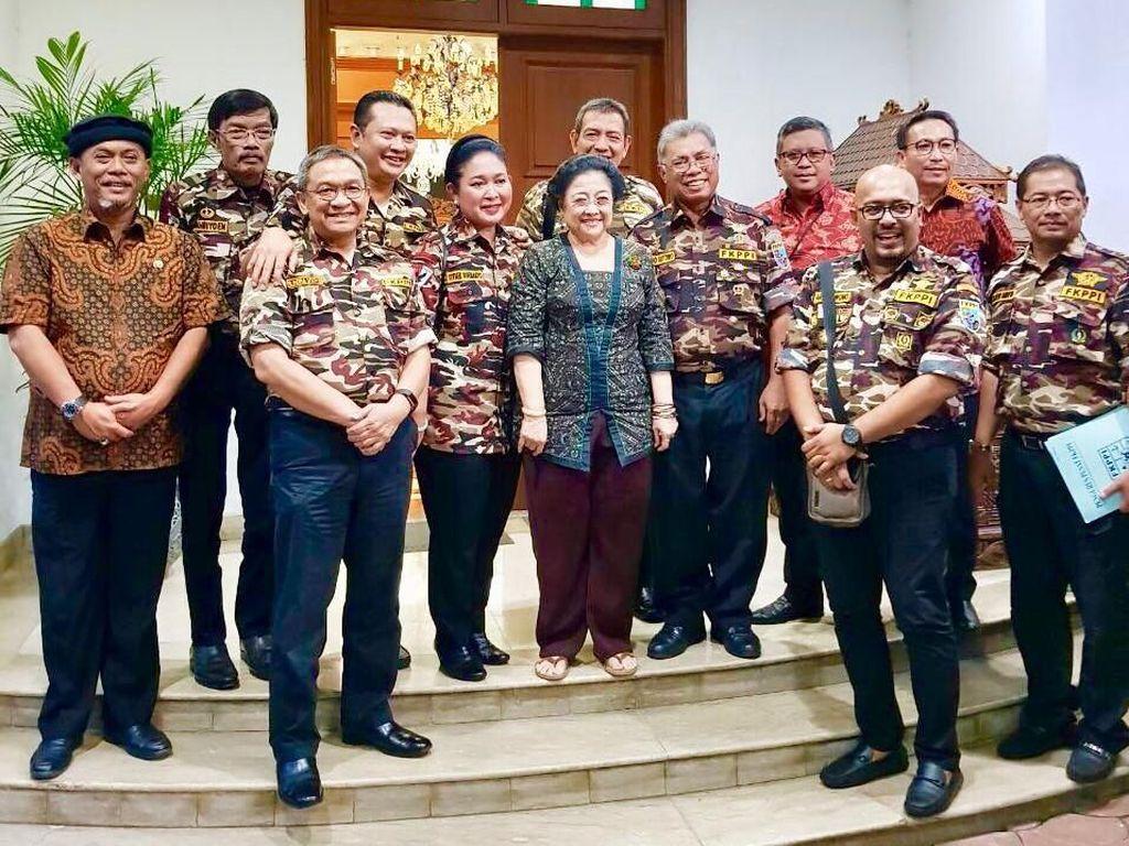 Bersama Bamsoet, Titiek Soeharto Temui Ketum PDIP Megawati
