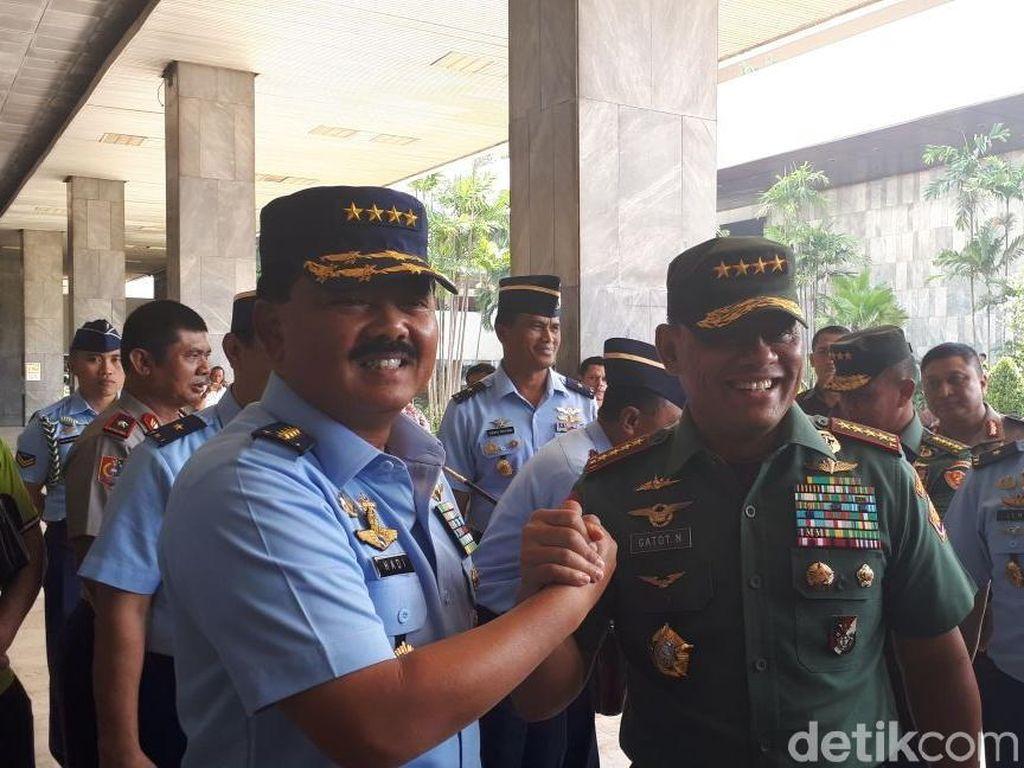 Kata Jenderal Gatot Soal Alasan Jokowi Pilih Marsekal Hadi